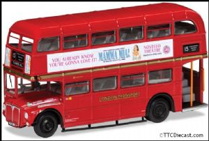 CORGI OM46316A AEC Type RM, London Transport ,Route 15 Tower Hill, 'Mamma Mia!